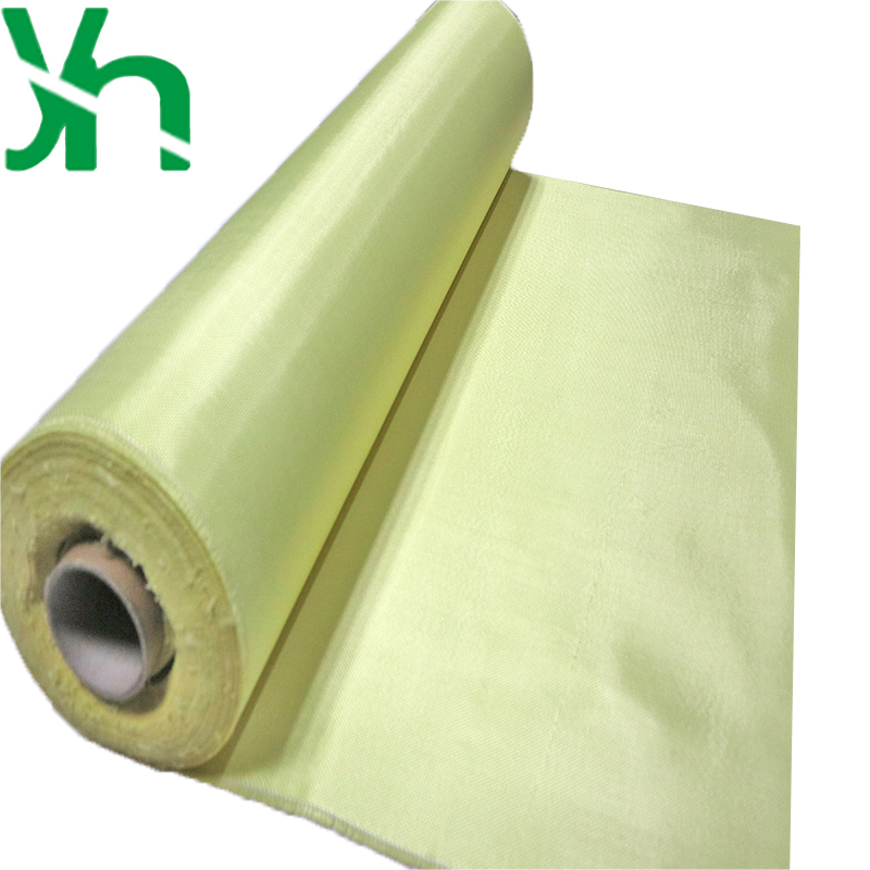 3K 200g Yellow Fabric Made with Kevlar Carbon Fiber Plain Aramid Carbon 70cm 1m