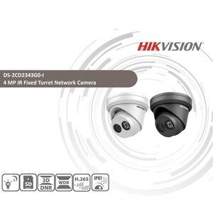 Image 2 - HIKVISION H.265 камера DS 2CD2343G0 I 4MP IR сетевая камера с фиксированной башней мини купольная ip камера слот для sd карты распознавание лица