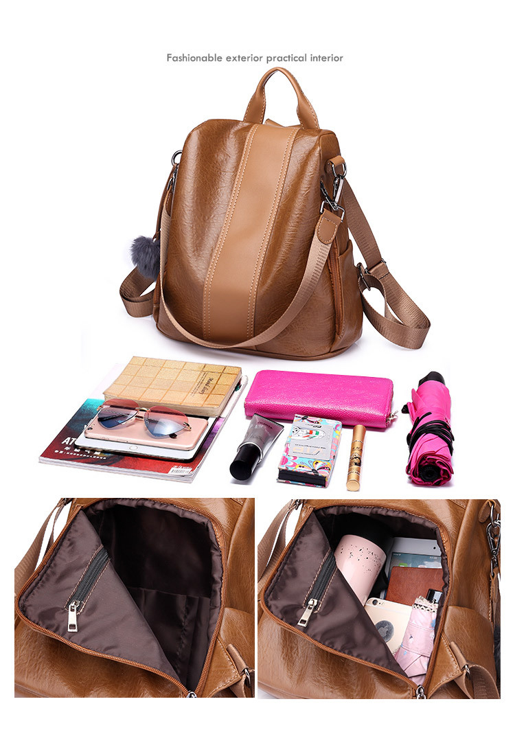 HTB1QZYybi 1gK0jSZFqq6ApaXXap New Fashion Waterproof Casual Women Backpack Purse Anti-theft Rucksack Mochila Feminina School Shoulder Bag for Teenagers Girls