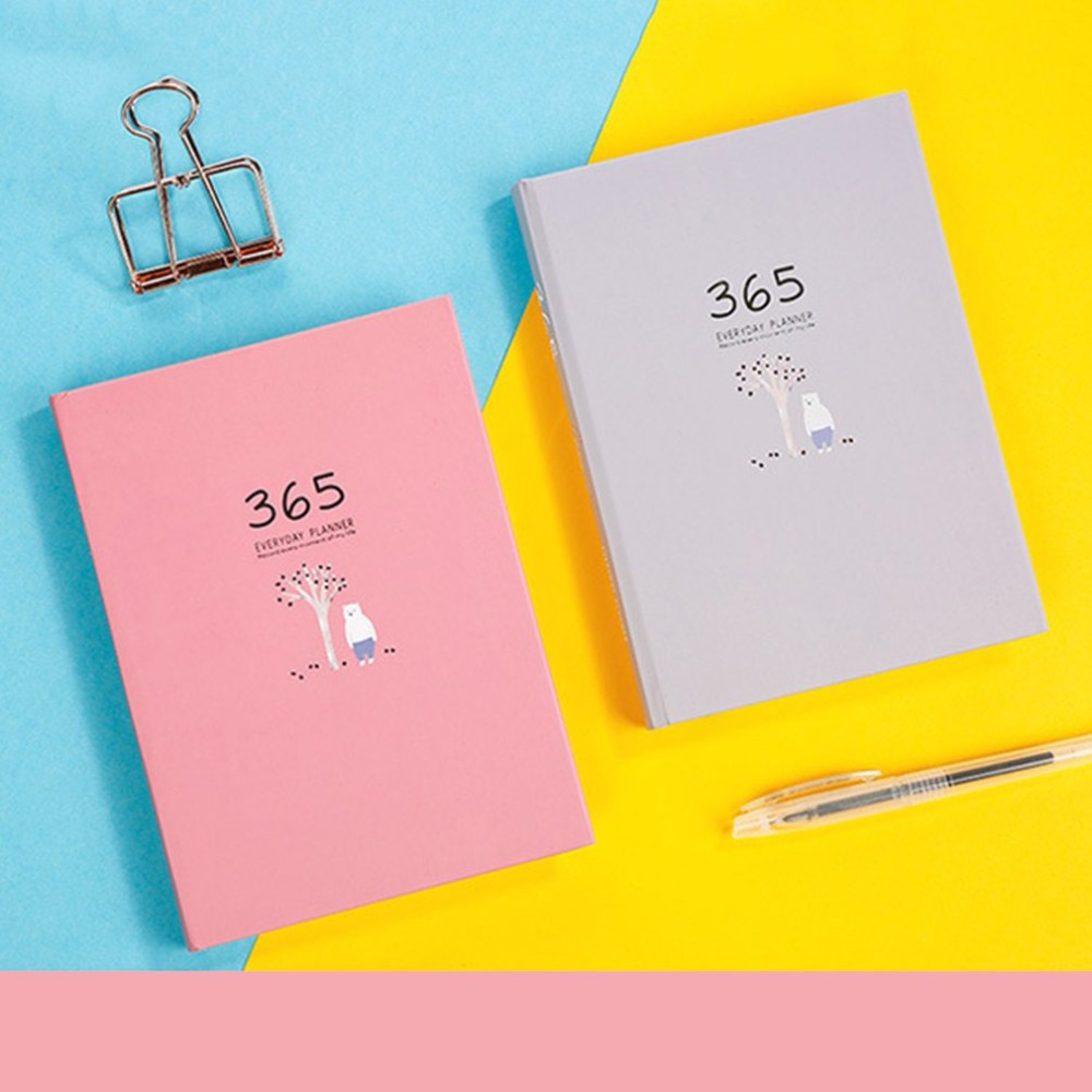 Cute Hardcover Design School Students Personal Diary Journal