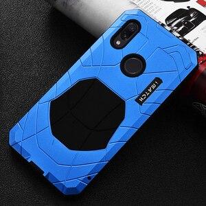 Image 5 - Robuuste Case Voor Xiaomi Redmi Note 7 Shockproof Heavy Duty Armor Hard Rubber & Aluminium Metal Cover Xiaomi Redmi Note 7 Pro Case