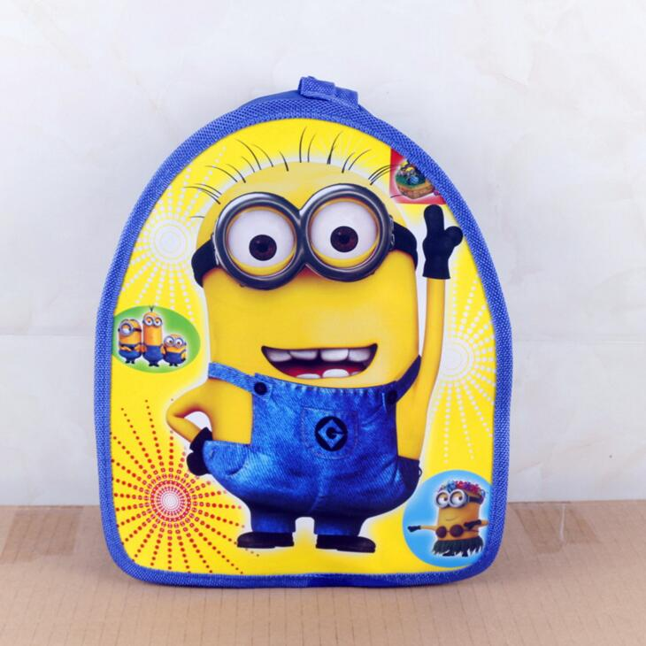 New Minions Cartoon Backpack Bags kids gifts Kids School Shoulder Bags Schoolbag Backpack Kids Party Favor