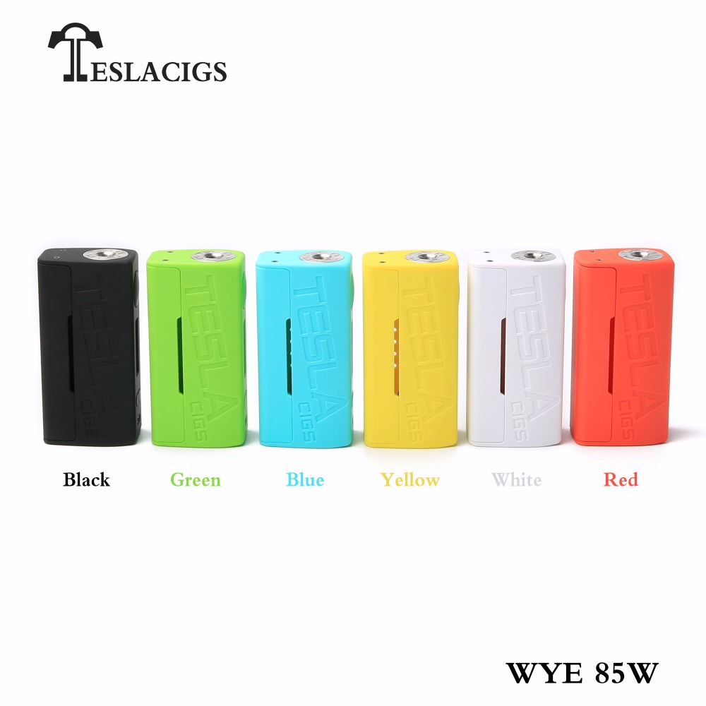 Electronic Cigarette TC Box Mod Original Teslacigs WYE 85W Temperature Control Tri-button Design fit for for H8 Mini Atomizer цена