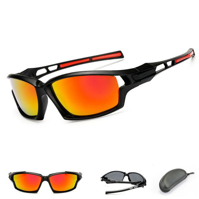 Polarizada Ciclismo Óculos Esporte Das Mulheres Dos Homens Óculos De Sol Da  Marca UV400 Óculos de 7a0cf389fa