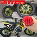 Free Shipping Motocross Dirt Bike Enduro Wheel RIM SPOKE Shrouds SKINS COVERS for kawasaki motocross