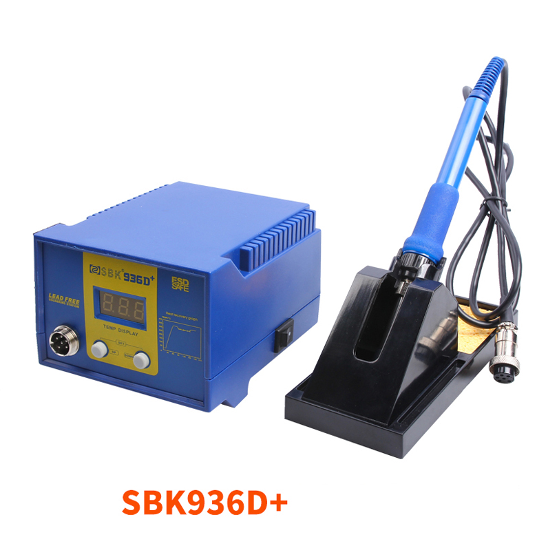 BAKON Electric iron Digital thermostat soldering station SBK936D+  60W 220V electric iron ladomir 64k