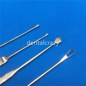 Image 3 - 2019 sıcak satış Oval şekilli/içi boş Mastoid Curette paslanmaz çelik burun plastik cerrahi aletler ortopedi aletleri