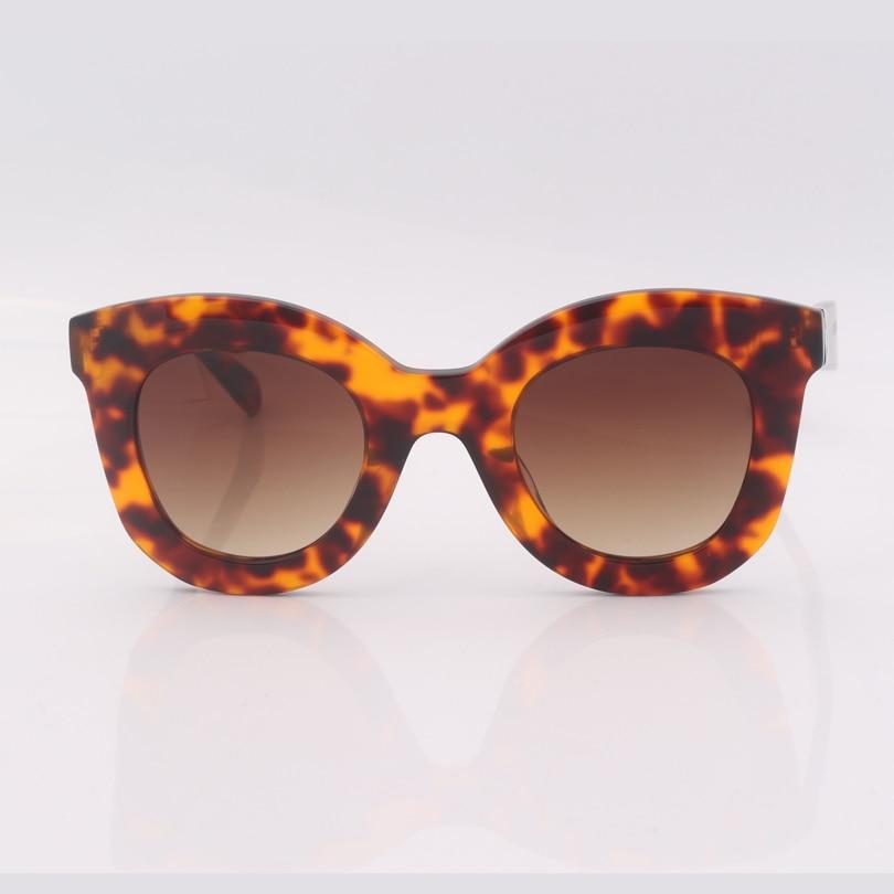 high quality leopard cat eye frame women sunglasses gafas de sol mujer