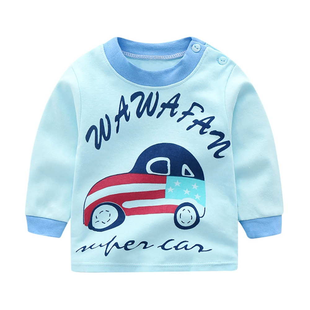 2018 New Arrival Baby Girls Sweatshirts Winter Spring Autumn Children Hoodies Cartoon Long Sleeves Sweater Kids T-shirt Clothes