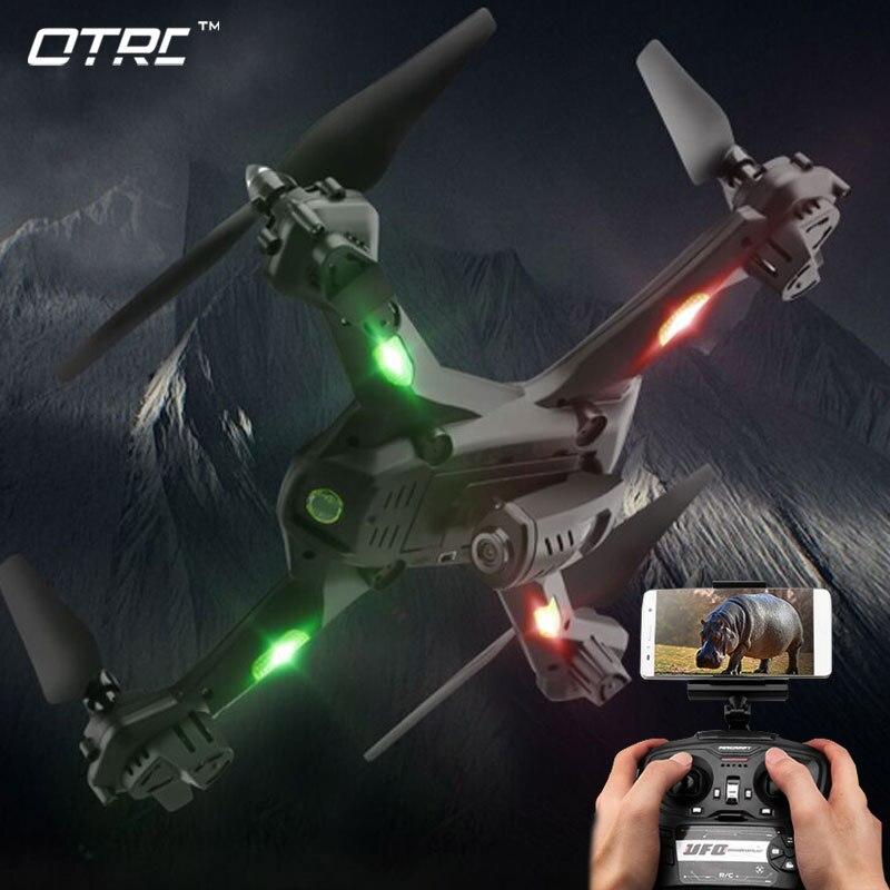 OTRC S5 Super drones avec hd caméra FPV wifi 2MP rc quadcopter selfie drone télécommande com hélicoptère volant sport jouet