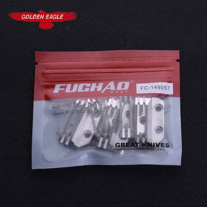 FUCHAO high quality feed dog suit for lock stitch Sewing machine spare parts 149057 E type double row teeth