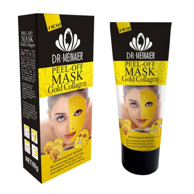 24K Gold Face Care Collagen Tear Off Mask Anti Aging Whitening Moisturizing Skin Care Wrinkle Lifting Smooth 60g