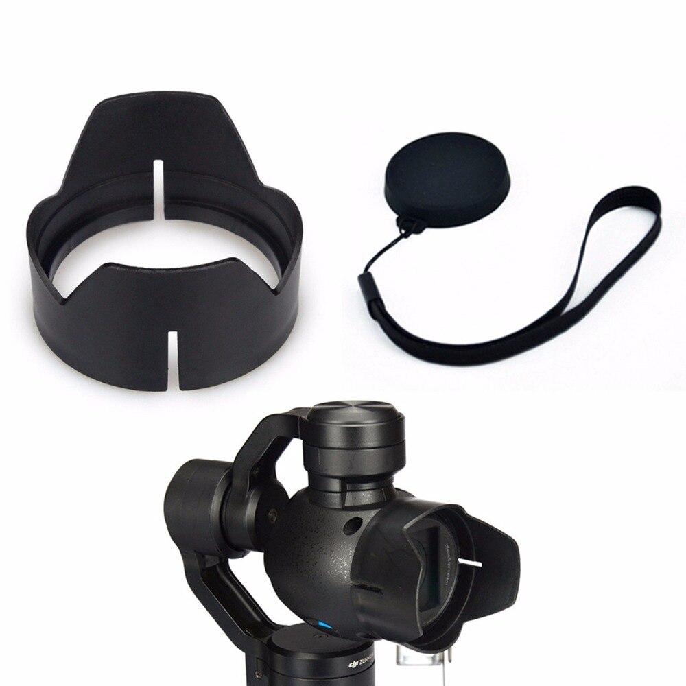 Camera Lens Cap Protector Camera Lens Sun Hood Sunshade Cap For DJI osmo Handheld Gimbal DJI Inspire 1 Drone X3 Camera