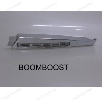 The new auto parts BOOMBOOST 1 set auto fog lamp Car styling running lights for Jaguar XF 2010 -2012