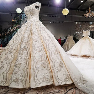 Image 5 - Aijingyu結婚式ホルマールインドネシアブライダルスリーブボールガウン2021中国のウェディングドレス