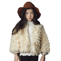 Girls Fur Jacket Autumn Winter Kids Jackets And Coats Baby Girls Faux Fur Coat Warm Children