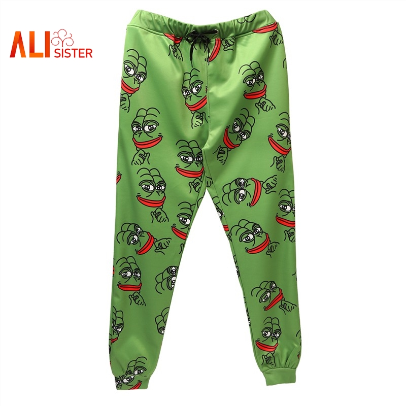 3d Cartoon Sweatpants Fashion Joggers Pants Men Women Funny Casual Trousers Autumn Winter Elastic Waist Pants Dropship