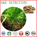 Fonte da fábrica Melhor Qualidade Saw Palmetto Cápsulas 500 mg x 300 pcs