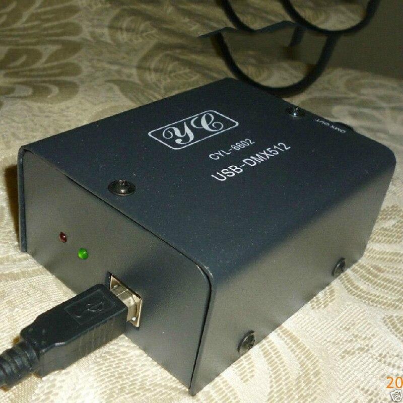 512 canaux USB à DMX DMX512 lumière LED DMX-stade contrôleur d'éclairage Das lumière - 6