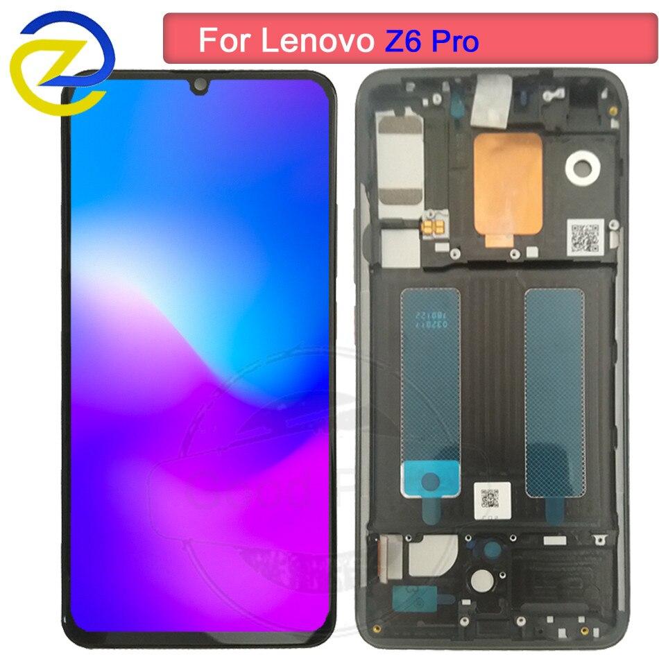 Pour Lenovo Z6 Pro LCD écran tactile numériseur assemblée écran pour Lenovo Z6 Pro Snapdragon 855 lcd remplacement