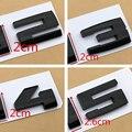 Глянцевый черный три цвета/м полоски M1 M2 M3 M4 M5 M6 хромированная эмблема для стайлинга автомобиля значок для багажника F10 E46 E60