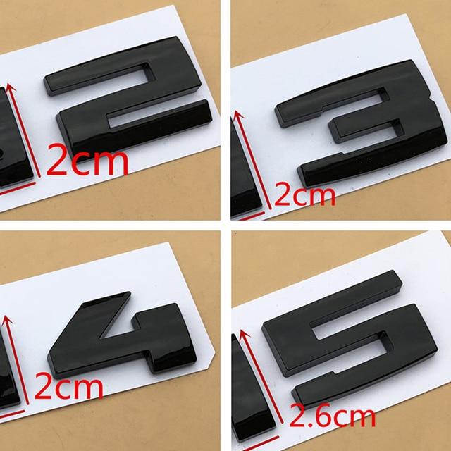 Glossy Black Three Colors ///M Strips M1 M2 M3 M4 M5 M6 Chrome Emblem Car Styling Fender Trunk Badge Sticker for F10 E46 E60