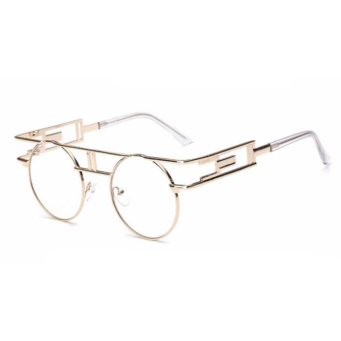CandisGY mote metall ramme steampunk solbriller kvinner merkevare - Klær tilbehør - Bilde 3