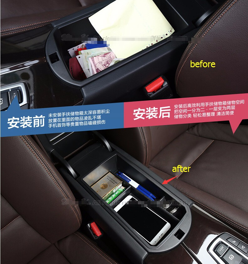 High quality Multifunction Central storage box For Cadillac XTS 2015-2017