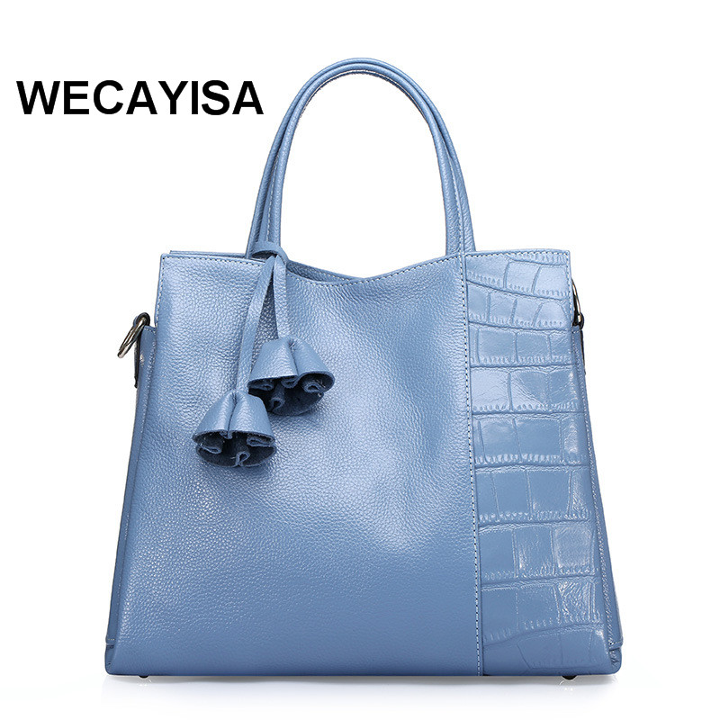 ФОТО Spring and summer genuine leather women's handbag fashion cowhide women's bag first layer of cowhide hawkmoths one shoulder