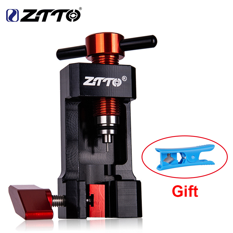 ZTTO MTB Bicycle Install Press Fit In Tools  Bike Needle Tool Driver Hydraulic Hose Cutters Disc Brake Hose Cutter Connector