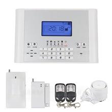 DIYSECUR Inalámbricas/Cableadas Zonas de Defensa GSM SMS Auto-dial de Sistema de Alarma de Intrusión Seguridad para Casa Oficina