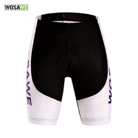Wosawe Mtb Shorts Women's Cool Gel Padded Cycling Shorts Shockproof Mtb Road Bike Bicycle Bermuda Ciclismo Short Pants