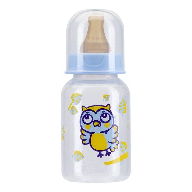 Бутылочка КУРНОСИКИ  с латексной соской молочной , 125 мл