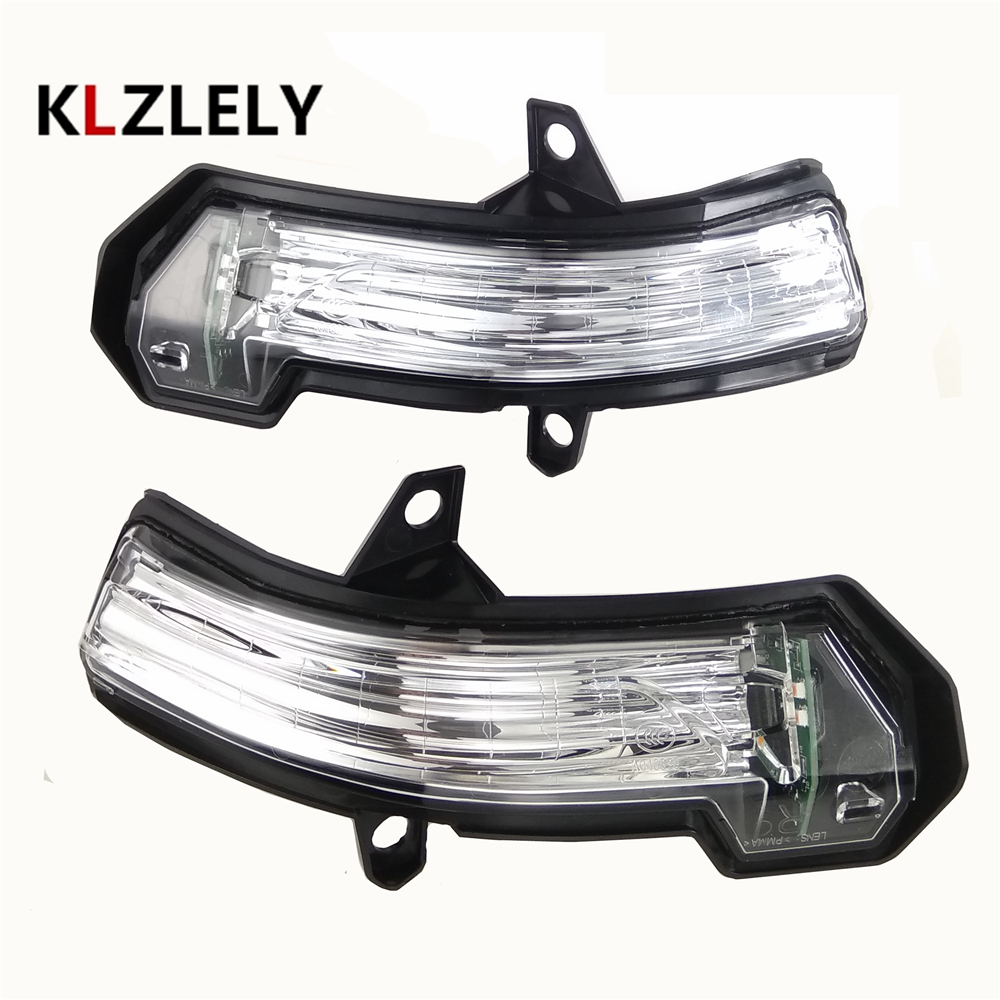 1 SET For Cadillac XT5 Led Car Styling Side Mirror With Indicator Turn Signals Lights
