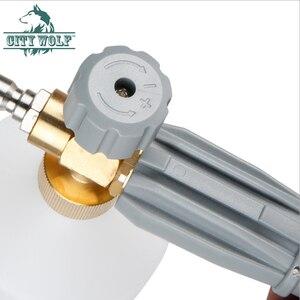 Image 3 - Pistolet à mousse haute pression City wolf avec adaptateur rapide G1/4 pour accessoires de nettoyage pour lave auto
