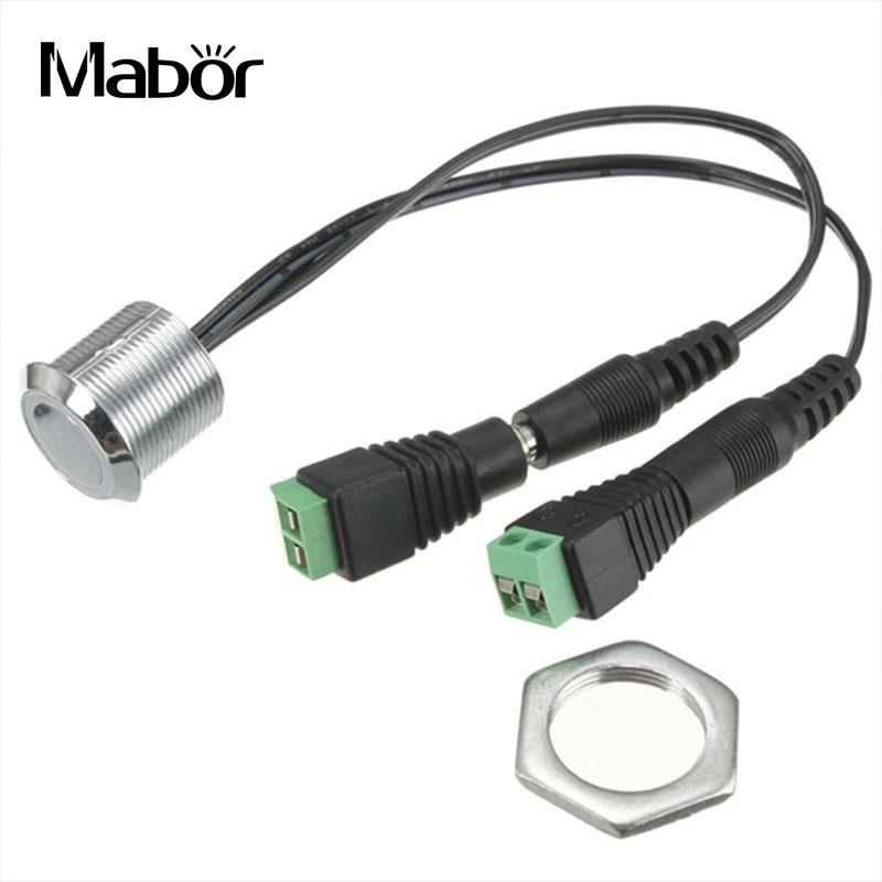 Mabor Touching Touch Type Sensor Switch for LED Strip Light Dimmer Dimming Light Wall Lamp Light Auto On/Off Closet