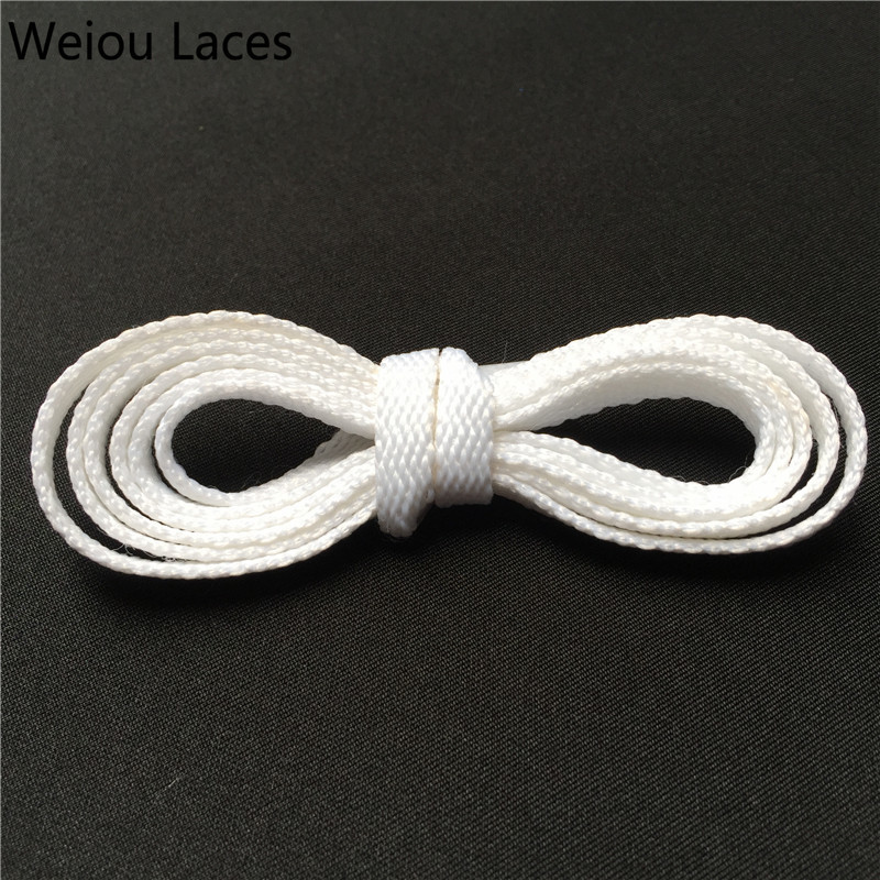 Shoes Shoelaces Fine Weiou Cbrl 7mm Flat Tubular Laces Awesome Lacet Novelty Customized Colored Shoelaces Ribbon Hollow Shoestring Sports Bootlaces Wide Selection;