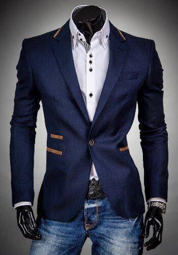 2017 Latest Coat Pant Designs Navy Blue Men Jacket Prom Blazer Slim Fit Skinny Tuxedo Custom Groom Party Suits Terno Masculino