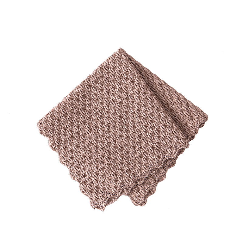Image 5 - FOURETAW 1 Piece Home Kitchen Car Non greasy Rag Towel Super Absorbent Clean Cloth Sink Cleaning Towels Household Cleaning Tools-in Cleaning Cloths from Home & Garden