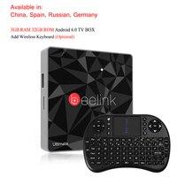 Beelink GT1 Ultimate LED Android 6 0 4K 60fps Smart Set Top Box Remote 3GB 32GB