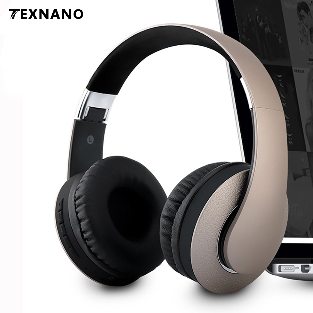 цена на Travel Fone de ouvido Subwoofer Wireless headphone Bluetooth Headphones with HD mic Mini Folding Headset Bluetooth 4.0 For Phone