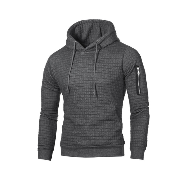 Autumn Long Sleeve Hoodies Men Patchwork Slim Fit Hooded Sweatshirt Fitness Zip Up Hoody Mens Clothing Street wear Brands XXXL