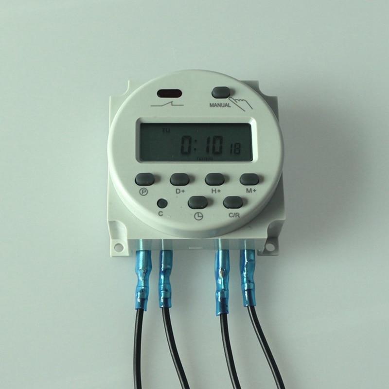 ⊱CN101A AC 220V-240V Digital LCD Power Programmable Timer Time ...