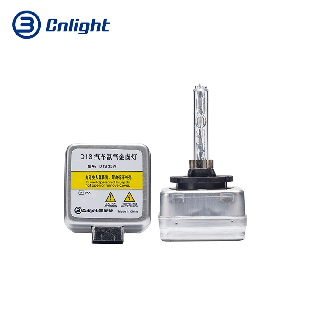 Cnlight D1S Xenon Headlight Bulb 4800K 5500K 6500K HID Car Light 12V 35w