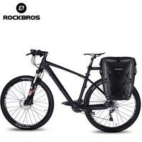 ROCKBROS 27L Bike Bag Waterproof Cycling Bicycle Rear Rack Bag Tail Seat Trunk Bags Pannier Big