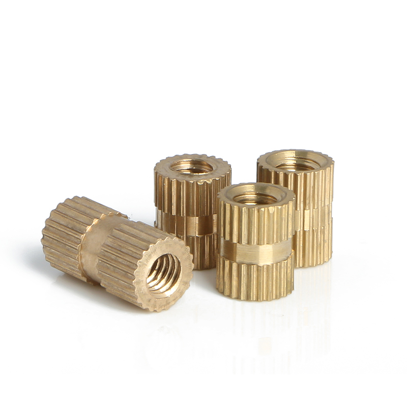ID*H*OD M4 M5 M6 Brass Knurl Insert Nuts Copper Threaded Embedded Nutsert For Injection MouldingID*H*OD M4 M5 M6 Brass Knurl Insert Nuts Copper Threaded Embedded Nutsert For Injection Moulding