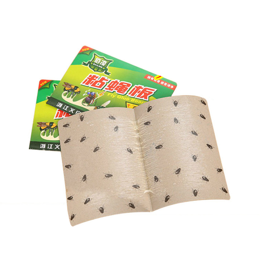 20pcs Pest Control House Fly Catchers Fly Glue Paper Trap, Strong Flies Moth Bed Bugs Sticky Board, Ants Spiders Insect Control