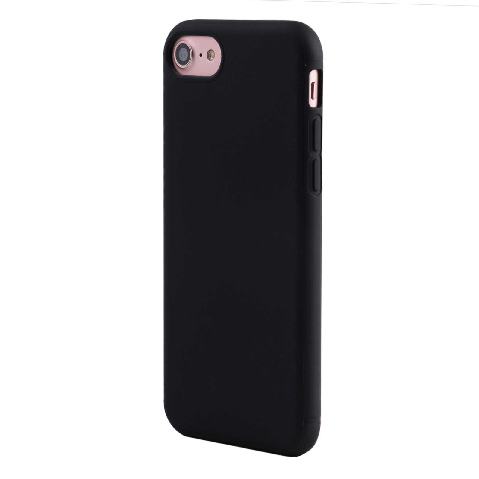 89e3c8708ea ... Lindo Macarons Color TPU de silicona mate caso para iPhone X 7 6 S 6 5  ...