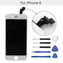"""Hohe qualität 4,7 """"lcd-bildschirm für iphone 6 display ersatz mit werkzeug kits touchscreen digitizer montage keine tote pixel"""