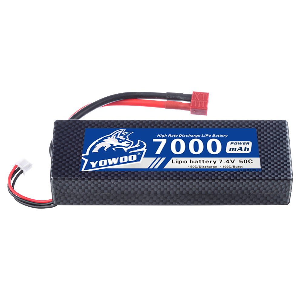 Yowoo 2S 7.4V 7000mah 50C Hardcase Lipo